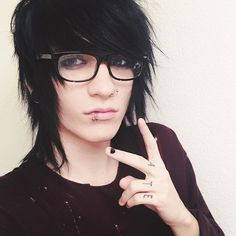 He looks hot in glasses
