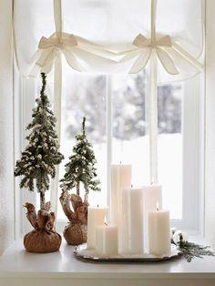 9-Arvorezinhas de Natal e velas