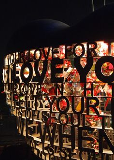 """N Seoul Tower on Namsan Mountain is an excellent destination for all lovebirds visiting Seoul.  Couples flock to N'Seoul to write messages to each other on padlocks and attach them to gates, sculptures, and """"love trees"""" at the base of the tower, forever leaving a mark of their devotion at the top of the city."""