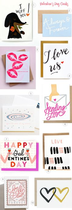 Valentine's Day Card Round Up curated by Oh So Beautiful Paper with Thimblepress, Belle & Union, Wild Ink Press, and more!