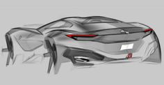 ru - The main resource of the vehicle design. The design of the car. Car Design Sketch, Car Sketch, Sketching Techniques, Custom Big Rigs, Industrial Design Sketch, Mechanical Design, Car Drawings, Expensive Cars, Transportation Design
