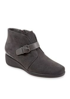 Trotters Dark Grey Mindy Casual Shoe