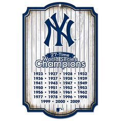 bd314aaeb2f23 27 Time World Series Champions Yankees Retired Numbers