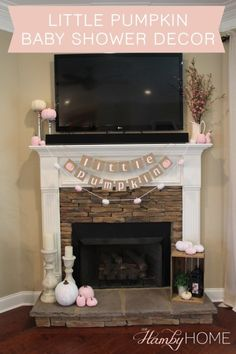 I have a niece on the way and I couldn't be more excited! With it being a fall baby shower, I knew I wanted to do a little pumpkin theme. I started… – Baby Shower Baby Girl Shower Themes, Baby Shower Decorations For Boys, Baby Shower Gender Reveal, Baby Shower Games, Baby Shower Parties, Baby Gender, Baby Decor, Baby Shower Fall, Fall Baby
