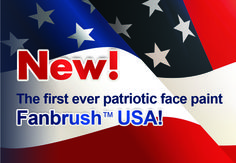 Fanbrush USA  Contact at www.fanbrush.com