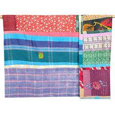 Large Kantha Quilt - Patchwork 40