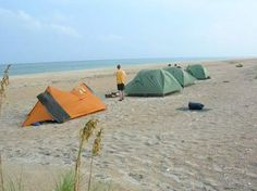 Cape Lookout National Park   Beach Camping