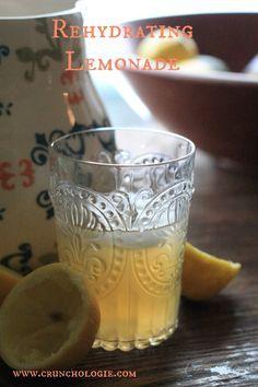 Rehydrating Lemonade - a delicious (and healthier) gatorade alternative.