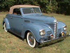 1939 Plymouth P8 Convertible