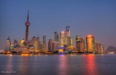 The spectacular Shanghai skyline at twilight from The Bund. Shanghai Bund, Visit Shanghai, Shanghai Tower, Shanghai Skyline, The Bund, Best Travel Quotes, Need A Vacation, Most Beautiful Cities, Vietnam Travel
