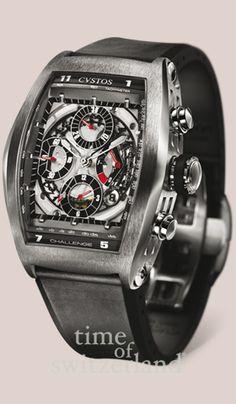 cvstos watches | Cvstos Challenge Tonneau Chrono - CHRONO ST White MVT - Time of ...