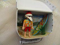 """Geldgeschenk-Koffer""""Weihnachtsurlaub unter Palmen"""""""
