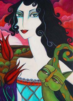 Her hakkı saklıdır Painting ©2011 Yasemin Karabenli tarafından -  Boyama