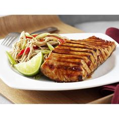 Teriyaki salmon with soba salad recipe - By Australian Women's Weekly
