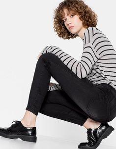 Skinny jeans - Jeans - Clothing - Woman - PULL&BEAR Ukraine