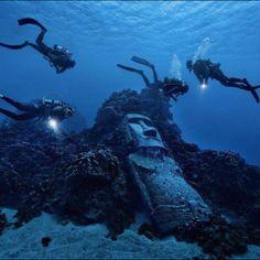 Diving in Easter Islands