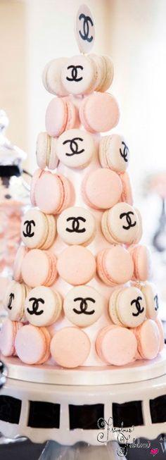 Frivolous Fabulous - Chanel Inspiration Wedding Ideas  WedLux