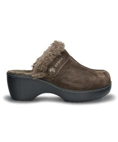 Another great find on #zulily! Espresso & Black Crocs Cobbler Leather Clog - Women #zulilyfinds