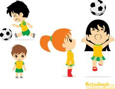(eps & pdf files) Soccer Guys, Soccer Match, Sprites, Chibi, Soccer Predictions, Free Vector Graphics, Football Players, Mickey Mouse, Disney Characters