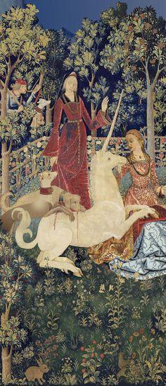 "Katharine Swailes' design for ""The Mystic Hunt of the Unicorn,"" 2011. ©Historic Scotland"
