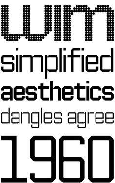 Architype Ingenieur by Wim Crouwel (Foundry Types) 06.2012
