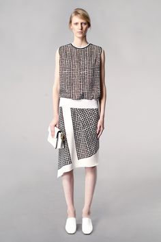 Reed Krakoff Resort 2014 Fashion Show - Julia Nobis