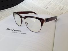 vintage browline eyeglasses #eyewear #fashion #chic
