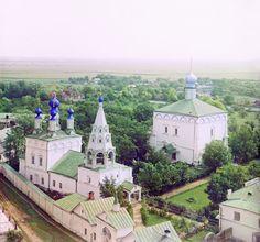 С. М. Прокудин-Горский. Рязань. Спасский монастырь с [юго-]запада. 1912 год