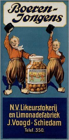 Likeurstokerij en Limonadefabriek J. From the collection: 150 years of advertising in the Netherlands.