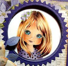 Copic Marker Europe: Adorable Faces. Skin:   E000-00-11-13; Hair E25-21-50-29;