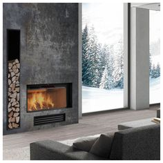 contemporary fireplace ❤ liked on Polyvore featuring home, home decor, fireplace accessories, contemporary home decor, contemporary home accessories and contemporary fireplace accessories