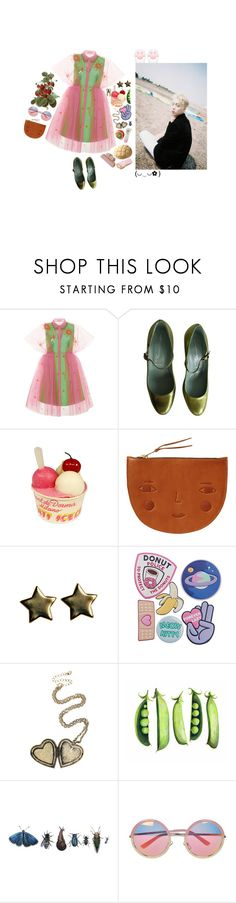 """seokjin♡"" by rotchenkova ❤ liked on Polyvore featuring Delpozo, Sigerson Morrison, PLANT, Donna Wilson, Francesca's, Hot Topic, Chicnova Fashion, kpop, korea and bts"