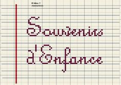 mot - word - label - point de croix - cross stitch - Blog : http://broderiemimie44.canalblog.com/
