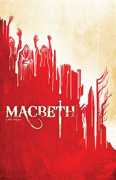 Macbeth poster. Bleeding Cowboys. I'm sensing a theme.