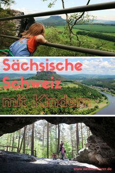 Die Sächsische Schweiz bei Dresden, auch bekannt als Elbsandsteingebirge, ist ein tolles Ausflugsziel für Familien. Hier gibt es superviele kindertaugliche Wanderrouten, probiert es mal aus!