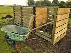 Our 2 bay composters are built around the 'New Zealand Box' method where the compost materials are mixed by moving them from one bay to another. This method mixes the material, adds air and ultimately results in a fine grade finished compost for use in your vegetable garden.  composter  #compost #raised bed #allotment #gardenersofinstagram  #montydon #gardener #gardenersworld #organic #gardening #planter #container #growyourown  #composter