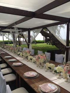 Glamorously rustic garden party tablescape, designed by Passion Roots, Hawaii Wedding Florist. www.passionroots.com