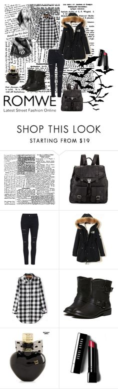 """""""Romwe 2."""" by amra-866 ❤ liked on Polyvore featuring Proenza Schouler, Aéropostale, Bobbi Brown Cosmetics and romwe"""