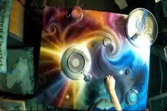 Matt Sorensen Experiments with Burning Spray Paint Techniques - inspirational video