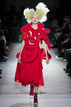 Comme des Garçons - Spring 2015 Ready-to-Wear - Look 3