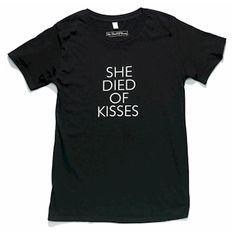 She Died of Kisses - Black