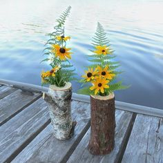 Wood Log Ideas for Your Home and Garden Log Decor, Wooden Decor, Tree Logs, Wood Tree, Wood Log Crafts, Diy Spring Weddings, Flower Vases, Flowers, Wood Logs