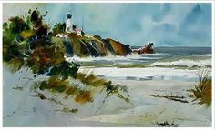 Watercolor painting artist Tony Couch   How to Paint with Watercolors Workshops, Book, Video, DVDs