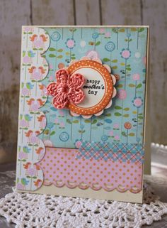 Handmade Happy Mothers Day Card