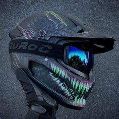 Ruroc | Berserker Toxin | Full Face Carbon Fiber Motorcycle Helmet Carbon Fiber Motorcycle Helmet, Full Face Motorcycle Helmets, Bicycle Helmet, T 300, Motorcycle Equipment, Cool Motorcycles, Product Launch, Cars, Cycling Helmet