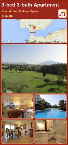 3-bed 3-bath Apartment in Guadalmina, Malaga, Spain ►€425,000 #PropertyForSaleInSpain
