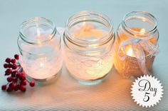 DIY Glass Jar