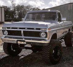 Old Ford Trucks, Lifted Ford Trucks, Diesel Trucks, Lifted Chevy, Ford F250 Diesel, 1979 Ford Truck, Ford Obs, Custom Pickup Trucks, Old Pickup Trucks
