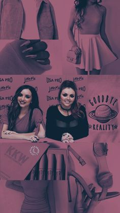 Jesy and Jade. Jesy Nelson, Perrie Edwards, Little Mix, Mixed Girls, Best Friends Forever, Girl Bands, Female Singers, Little Princess, Girl Group