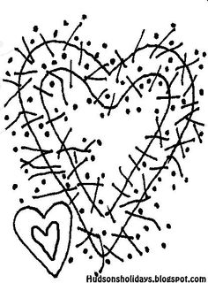 Hudson's Holidays - Shirley Hudson: Berry Wreath- Free stitchery pattern